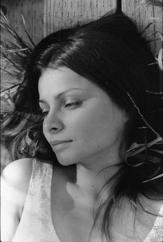 Hope Sandoval / Singer / Black and White Photography