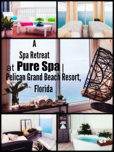 A Spa Retreat At PURE Spa. Pelican Grand Beach Resort, FL. Travel in North America.
