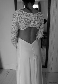 Robe de mariée couture sur mesure