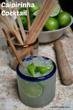 Brazilian Caipirinha Cocktail Kicks-off World Cup 2014 - Latino Foodie