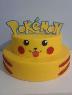 - 12% DE DESCONTO NO DEPÓSITO BANCÁRIO - Bolo cenográfico feito em biscuit (porcelana fria) - Não comestível R$ 130,00 Pokemon Torte, Pokemon Go Cakes, Pokemon Birthday Cake, Bolo Pikachu, Pikachu Cake, Festa Pokemon Go, Pokeball Cake, Character Cakes, Cakes For Boys