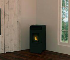 Estufa de pellets de aire CLBIO PRO - Leroy Merlin Stove, Home Appliances, Fire, Wood, Home Decor, Interiors, House Appliances, Stove Fireplace, Kitchen Appliances