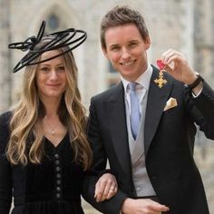 Proud Redmayniac — Eddie Redmayne collects OBE from the Queen and...