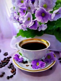 Setting of the table for coffee or a meal Sunday Coffee, Good Morning Coffee, Coffee Cafe, Coffee Break, My Coffee, Coffee Drinks, Coffee Shop, Coffee Heart, Café Chocolate