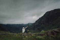 Secret Scottish Elopement on the Isle Of Skye: Laura + Damian http://greenweddingshoes.com/secret-scotish-elopement-on-the-isle-of-skye-laura-damian/