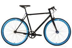 Vélos de route KS Cycling Vélo fitness fixie 28'' Pegado noir TC 53 cm KS Cycling