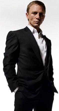 James Bond - Black Suit  wall street tailors!