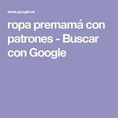 ropa premamá con patrones - Buscar con Google