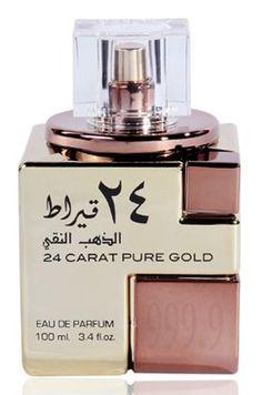 24 Carat Pure Gold Lattafa Perfumes for women and men