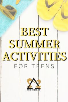 Teen activities to do during summer when bored! Planning summer activities for teens? Try these productive teenage activities from Ankhcommon. Boredom busters for teens solving common teenage problems. Summer Activities For Teens, Teen Activities, List Of Activities, Rainy Day Activities, Summer Fun List, Summer Bucket Lists, Summer Time, Teenage Girl Problems, Problem Solving Activities