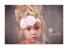 Adorable. This is what my daughter will look like! Big Brown Eyes, Pretty Blonde Hair<3