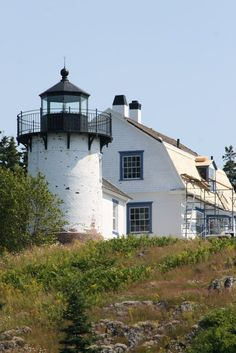 Bear Island Lighthouse.