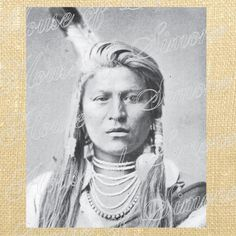 Indian Woman Lady Feather Tribe Native by HouseofSimoneArtDept, $1.25