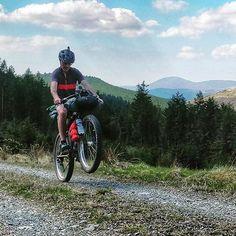 Turns out doing a wheelie on a 75lb loaded bike isnt easy!  #bicycling #bearbones #welshridething  #Wales #midwales #biketravel #adventurecycling #biketour #touring #outdoors #ridewithpurpose #adventure #ride  #neverstopexploring  #sussexmtb #GetOutside #ridemoreworkless #ukmtb #bikewander