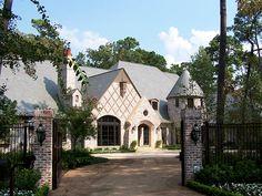 Very pretty... exterior house idea.