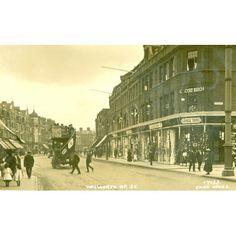 Walworth Road, 1916.