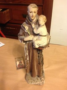 Vintage 1930's Religious Statue Chalkware Baby Jesus Statue Made in Italy by PaintedLadyAntiques on Etsy