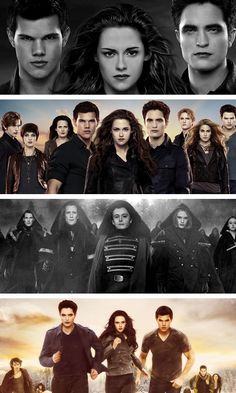 What moral lesson can be taken from the Twilight novels?