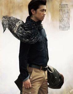 Saito TakumI Japanese actor