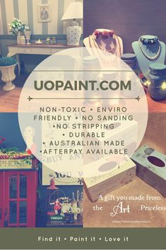 Paint Glass, Wood, Plastic, Metal, Ceramics, Fabric...Anything You Can Think Of!