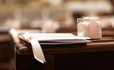 Matrimonio a tema, una festa in stile fiocchi di neve e libri