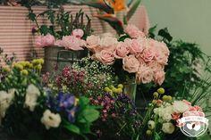 Taller decoración floral Bodas de Cuento School con Mayula Flores