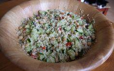 Bulgur Salade met kikkererwten en paprika | De Salade Bar