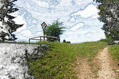 """'Stoffdesign """"Ruhepunkt 150""""' von Rudolf Büttner bei artflakes.com als Poster oder Kunstdruck $18.71"""