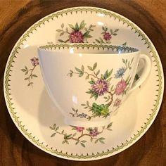 Set of 4 rhodora tea cups