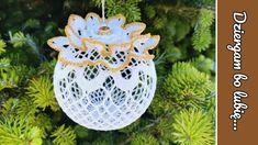Christmas Balls, Christmas Ornaments, Crochet, The Creator, Holiday Decor, Crocheting, Tricot, Tutorials, Mantas Crochet
