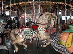 Paragon Carousel at Nantasket Beach, Hull MA (Photo courtesy of Dave Buge)