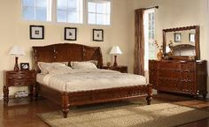 Wynwood Brendon Cherry Queen Size Sleigh Bed Traditional Bedroom Furniture NEW King Size Bedding Sets, Home, Wynwood Furniture, King Size Bedroom Sets, Furniture Sets, Bed, Furniture, Traditional Bed, Bed Furniture Set
