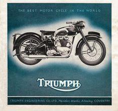 Racing Cafè: Vintage Brochures: Triumph 1948