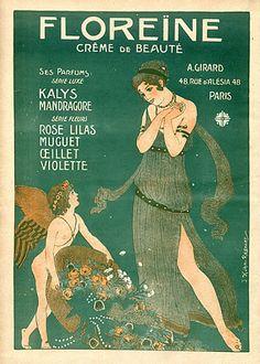 Floréïne (Cosmetics) 1919 Kuhn Regnier, Angel