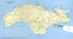 Large Samos Maps for Free Download   High-Resolution and Detailed ...