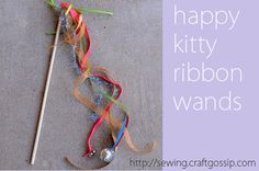 #ROAKDIY kitty wand