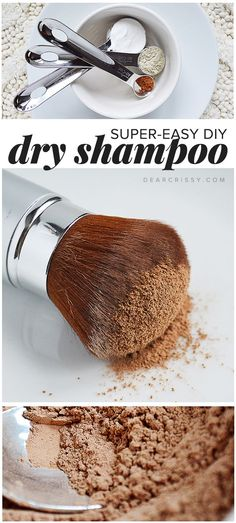 DIY Dry Shampoo - This homemade dry shampoo recipe and tutorial really opened my eyes, you'll never pay for store-bought dry shampoo again!