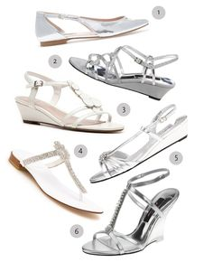 What Shoes To Wear For A Beach Wedding?  Bridesmaid options