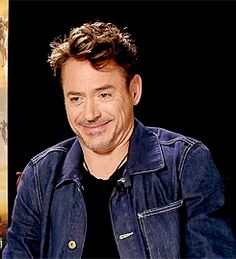 Robert Downey Jr.'s charming giggle.