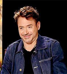 Robert Downey Jr.'s charming giggle.