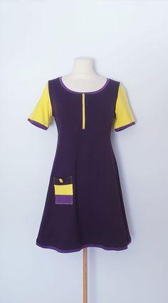 Tunika str. 38 Short Sleeve Dresses, Dresses With Sleeves, Handmade Dresses, Fashion, Tunic, Moda, Sleeve Dresses, Fashion Styles, Gowns With Sleeves