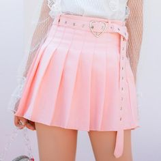 cb7e68aab0 Sweet pleated skirt SE11087 Use code