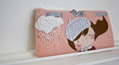 Clutch Purse, Coin Purse, Kids Bags, Purses And Bags, Sewing Patterns, Inspiration, Bags, Coin Purses, Dressmaking