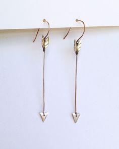 Rackk and Ruin Archer Earrings