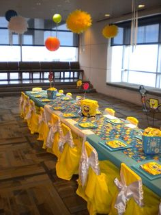 SpongeBob Party Decor