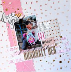 MK-life: Dubnový sketch úřadující královny... My Scrapbook, Scrapbooking, No 8, Project Life, Sketch, Frame, Projects, Ideas, Decor