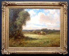 Old English Oil Paintings | If you have antique oil painting for sale, We are buying.