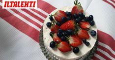 Vartissa valmis juustokakku - et tarvitse edes uunia Cheesecake, Strawberry, Pie, Fruit, Cooking, Easy, Desserts, Food, Torte