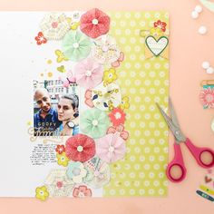 I'm on the @pinkpaislee blog with my last project for 2017! This layout features the most adorable DIY origami flower embellishments and my thoughts about family! Make sure to visit the Pink Paislee blog to check it out. #pinkpaislee #americancrafts #abmcrafty #ABMlifeiscolorful #ppohmyheart #paigeevans #ppturnthepage #papercrafting #scrapbook #scrapbooking #memorykeeping #scrapbookprocess #scrapbookingprocess #scrapbooklayout #scrapbookinglayout #scrap #origami #origamiflowers…