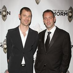 Trey Parker and Matt Stone Age: Parker, 41; Stone, 39 Occupation: Satirists   The perpetrators of the hit cartoon series South Park.